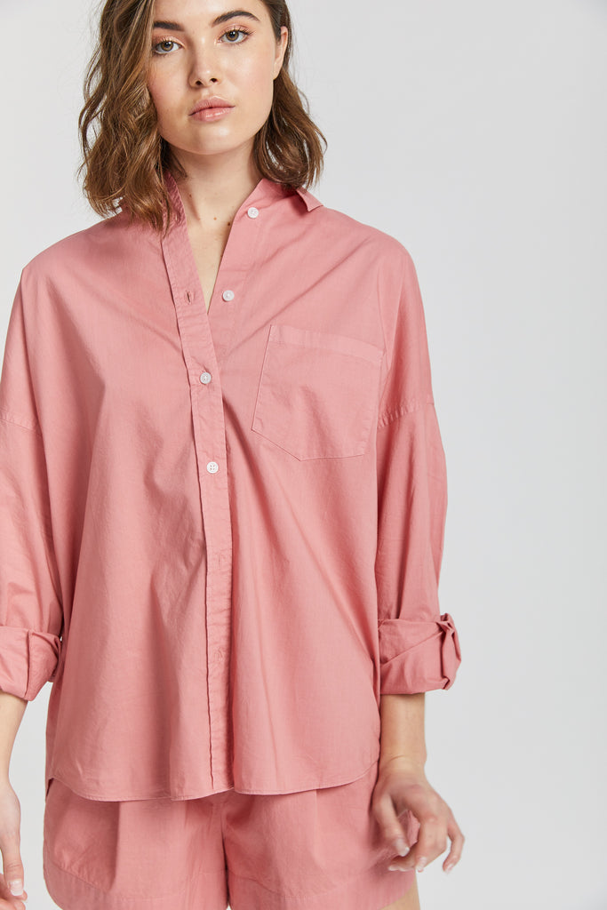 The Chiara Shirt - Blush