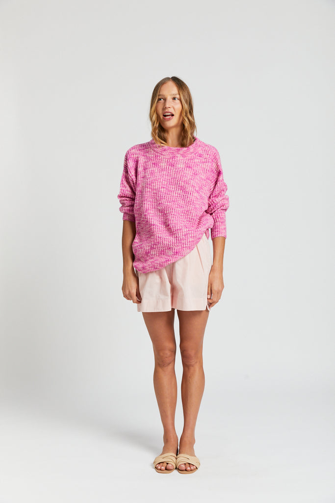 Mohair Knit - Pink