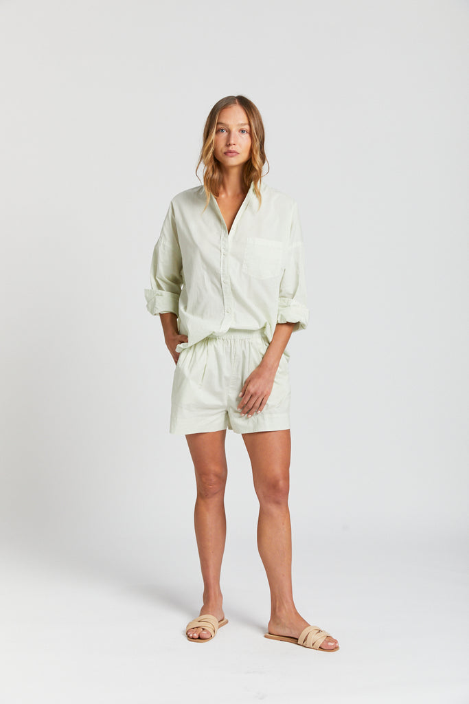 The Chiara Shirt - Mint