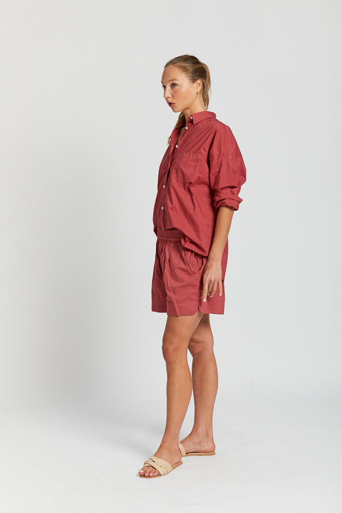 The Chiara Short - Cherry