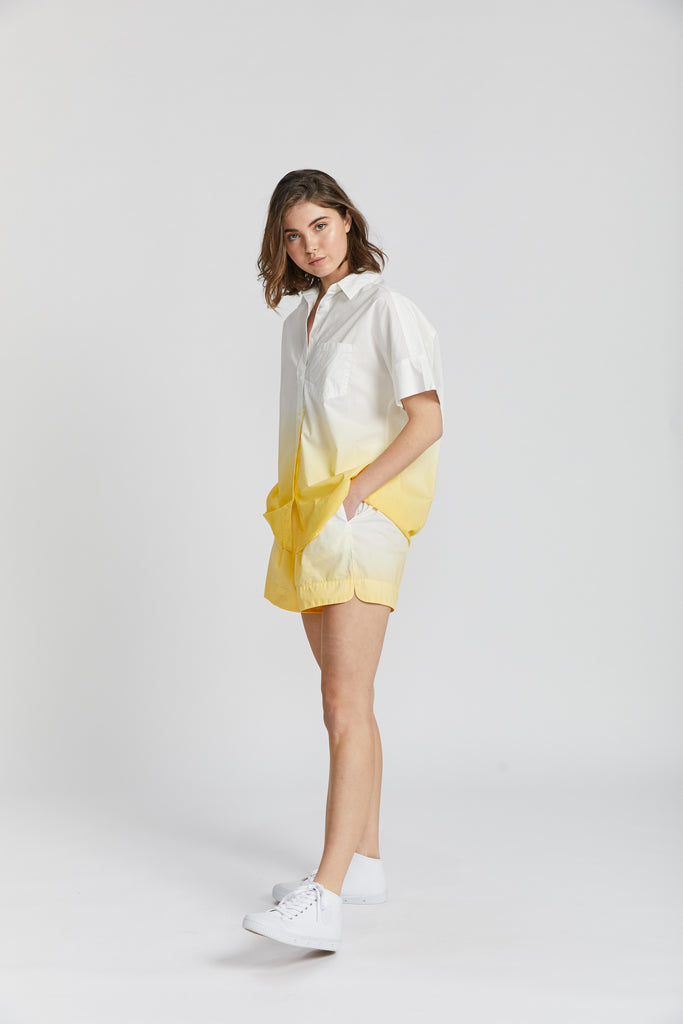 Sunset Shorts - Ombre Limoncello