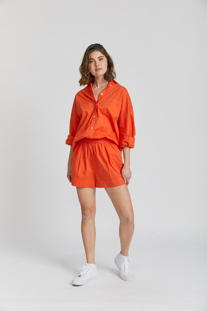 The Chiara Shirt - Orange Soda
