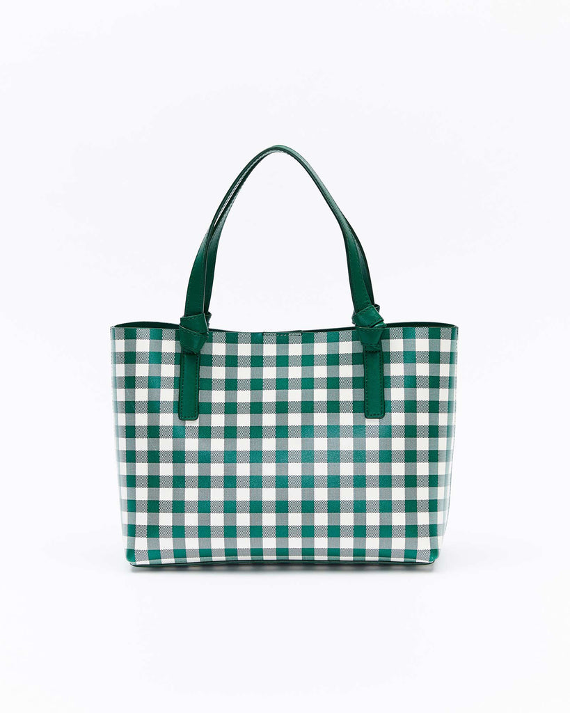 The Lea Mini Tote - Tropical Green
