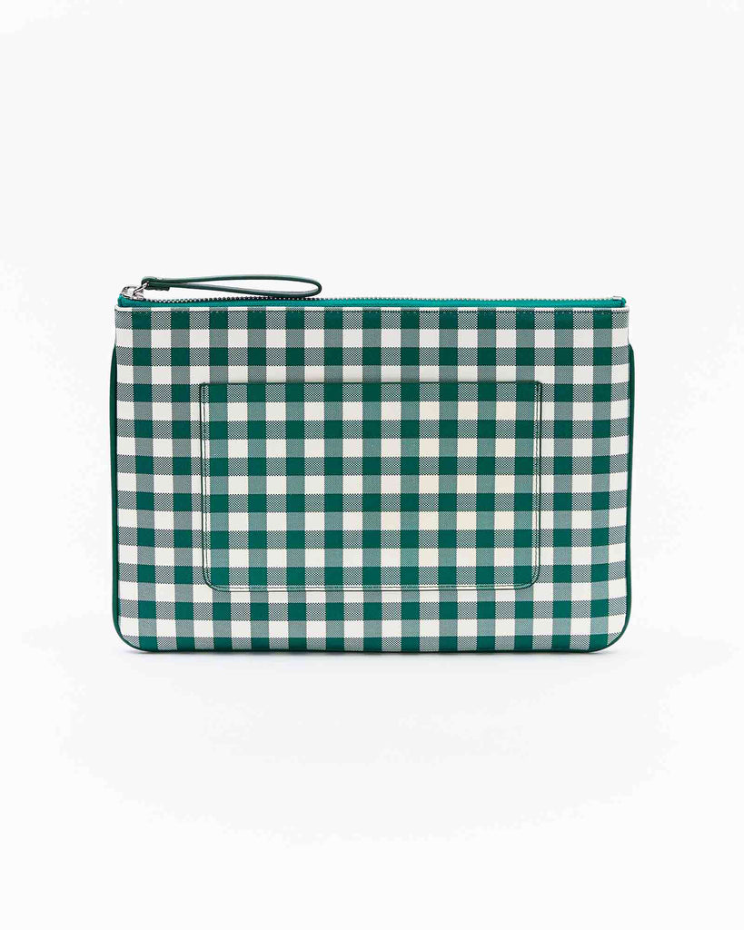 Lea Clutch - Tropical Green