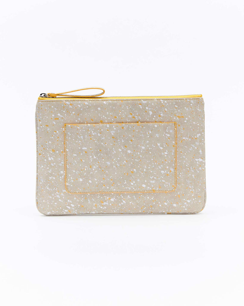 Mia Clutch - Splash Yellow