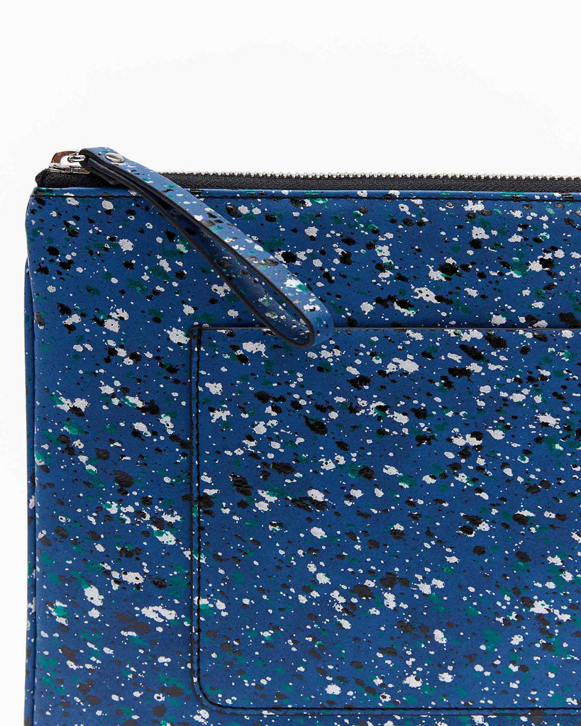 Mia Clutch - Splash Blue