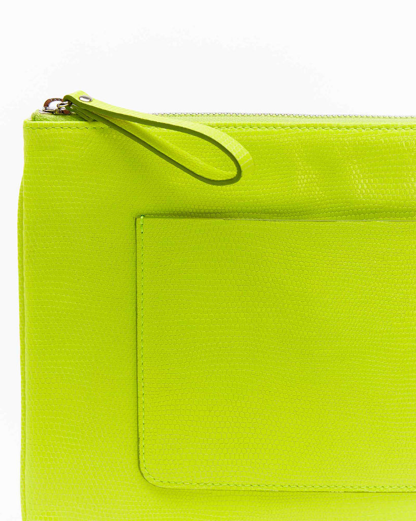 Mia Clutch - Neon Green