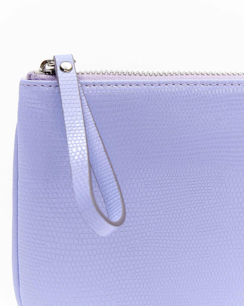 Mia Mini Clutch - Neon Lilac
