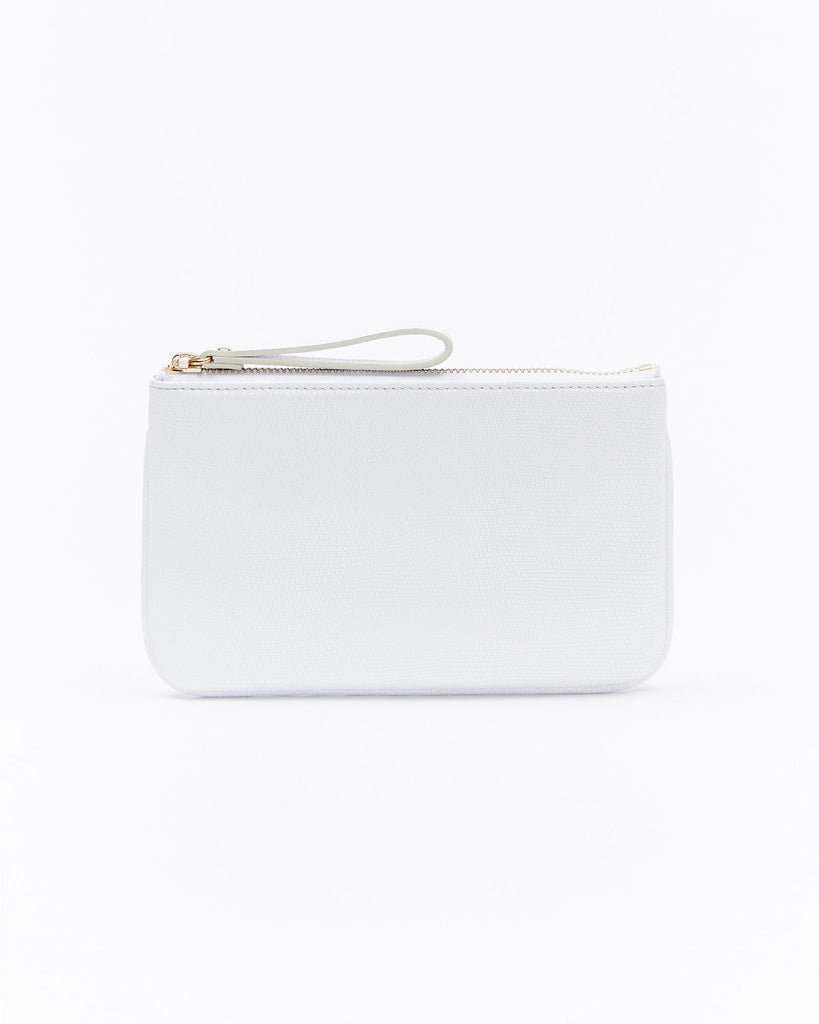 Mia Mini Clutch - Cream