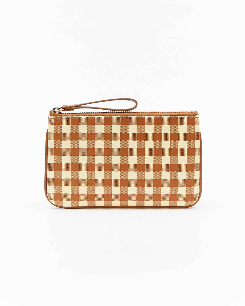 Lea Mini Clutch - Tan