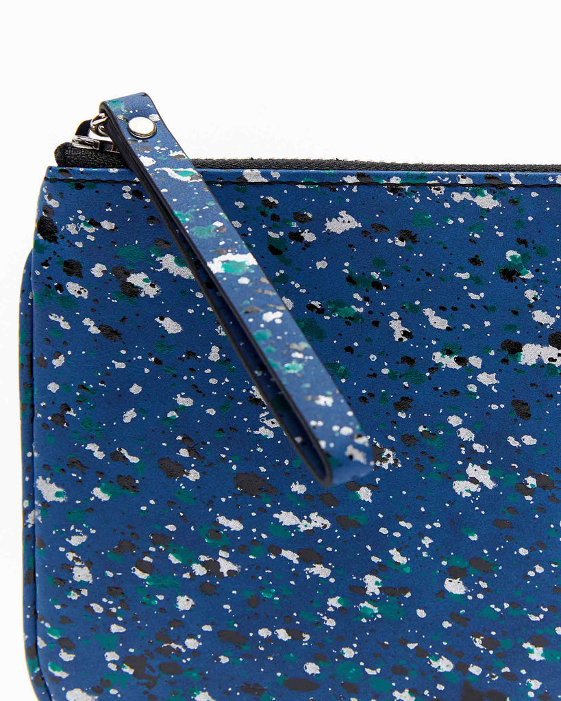 Mia Mini Clutch - Splash Blue
