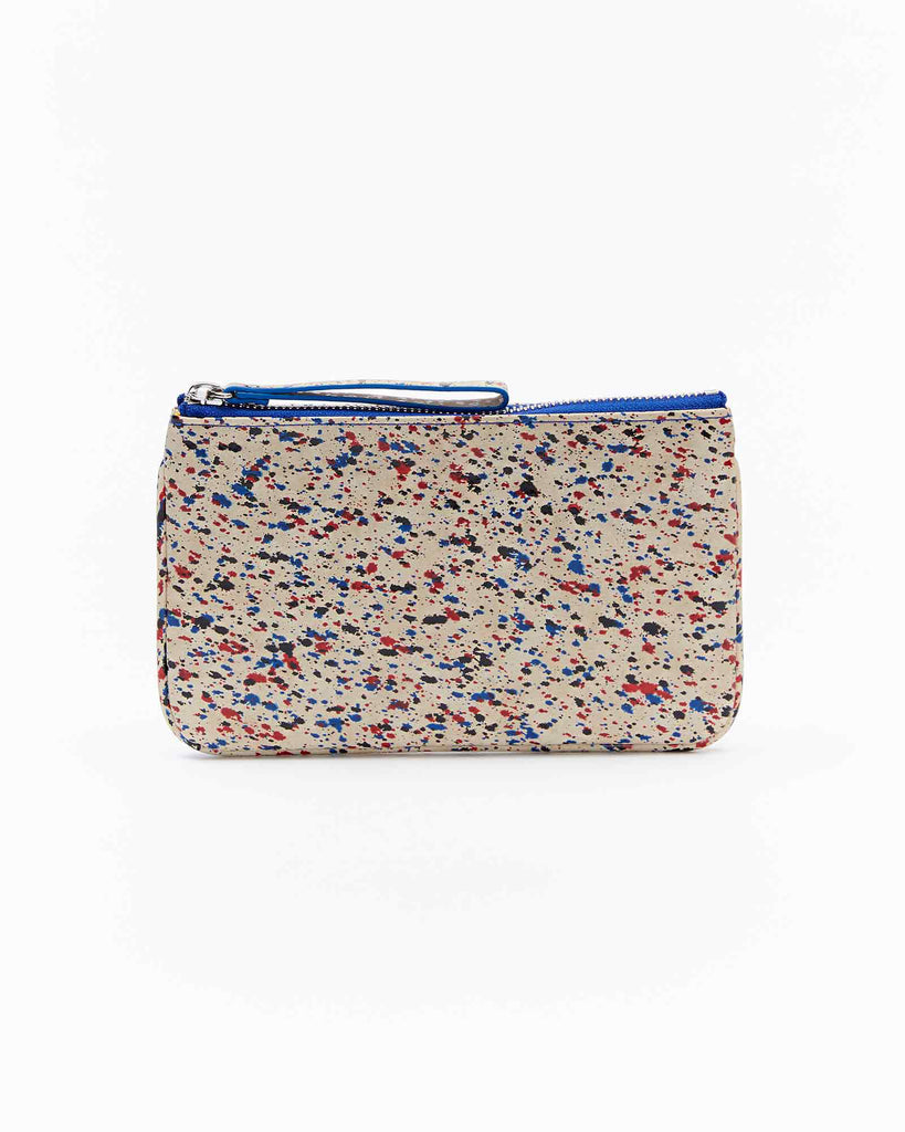 Mia Mini Clutch - Splash Red