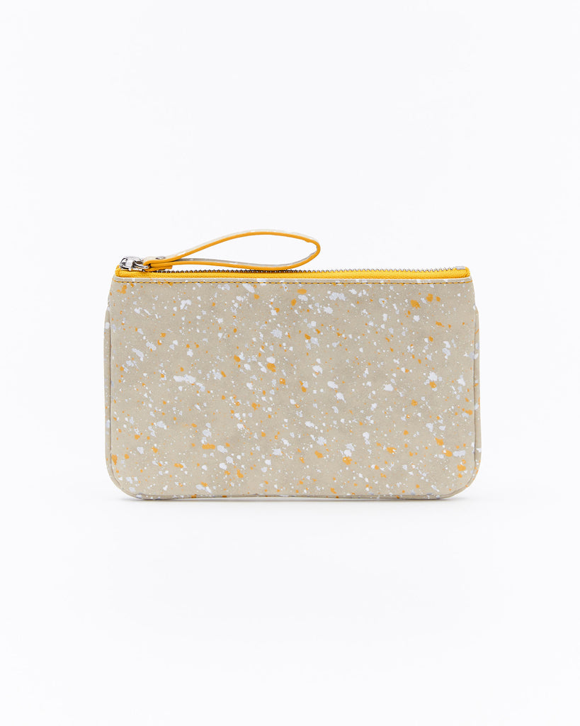 Mia Mini Clutch - Splash Yellow