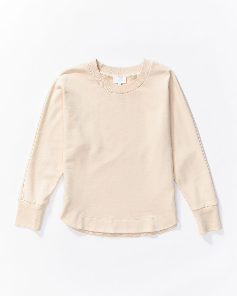 Cali Sweat Shirt - Powder Pink