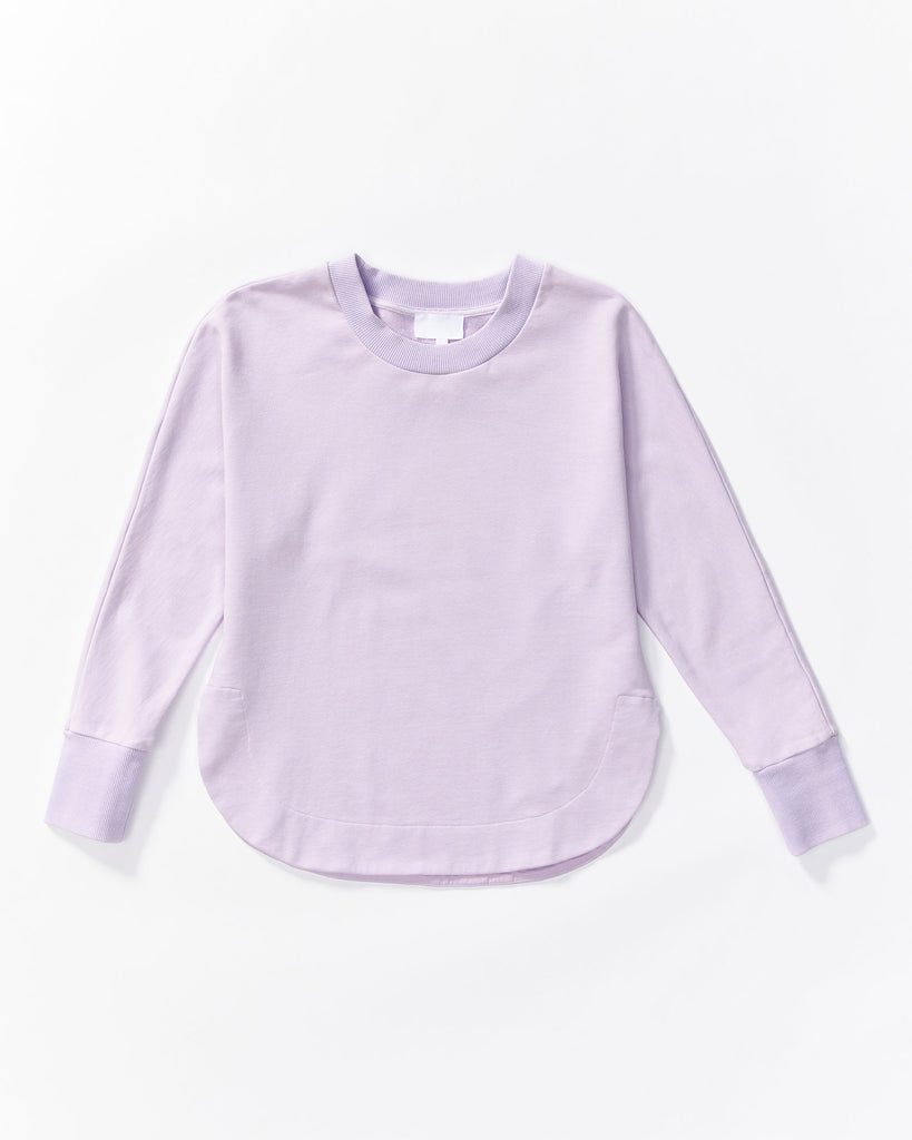 Cali Sweat Shirt - Lilac