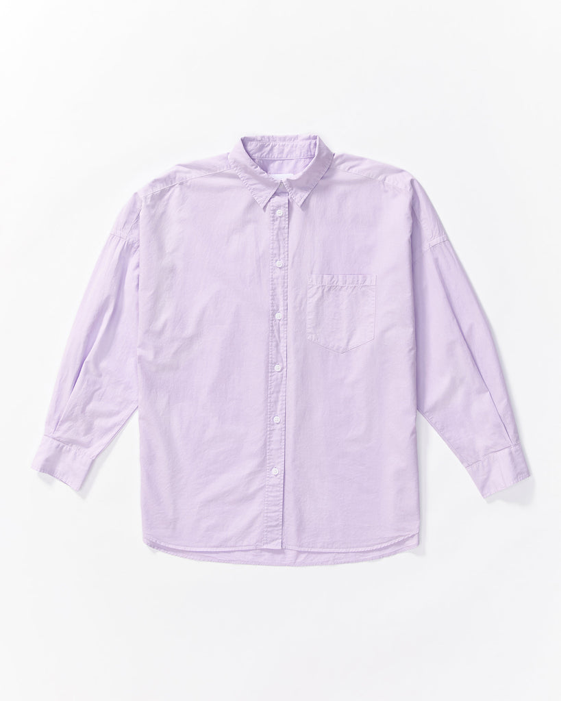 The Chiara Shirt - Lilac