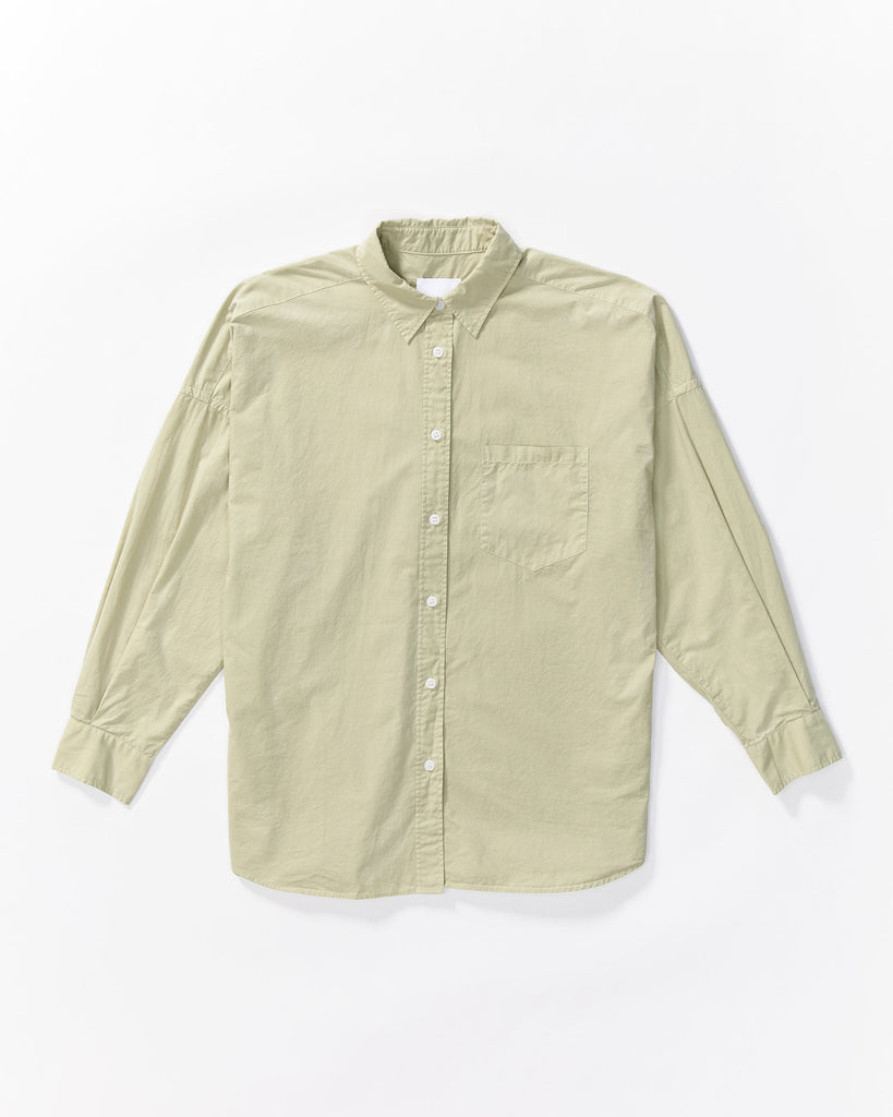 The Chiara Shirt - Green Forest