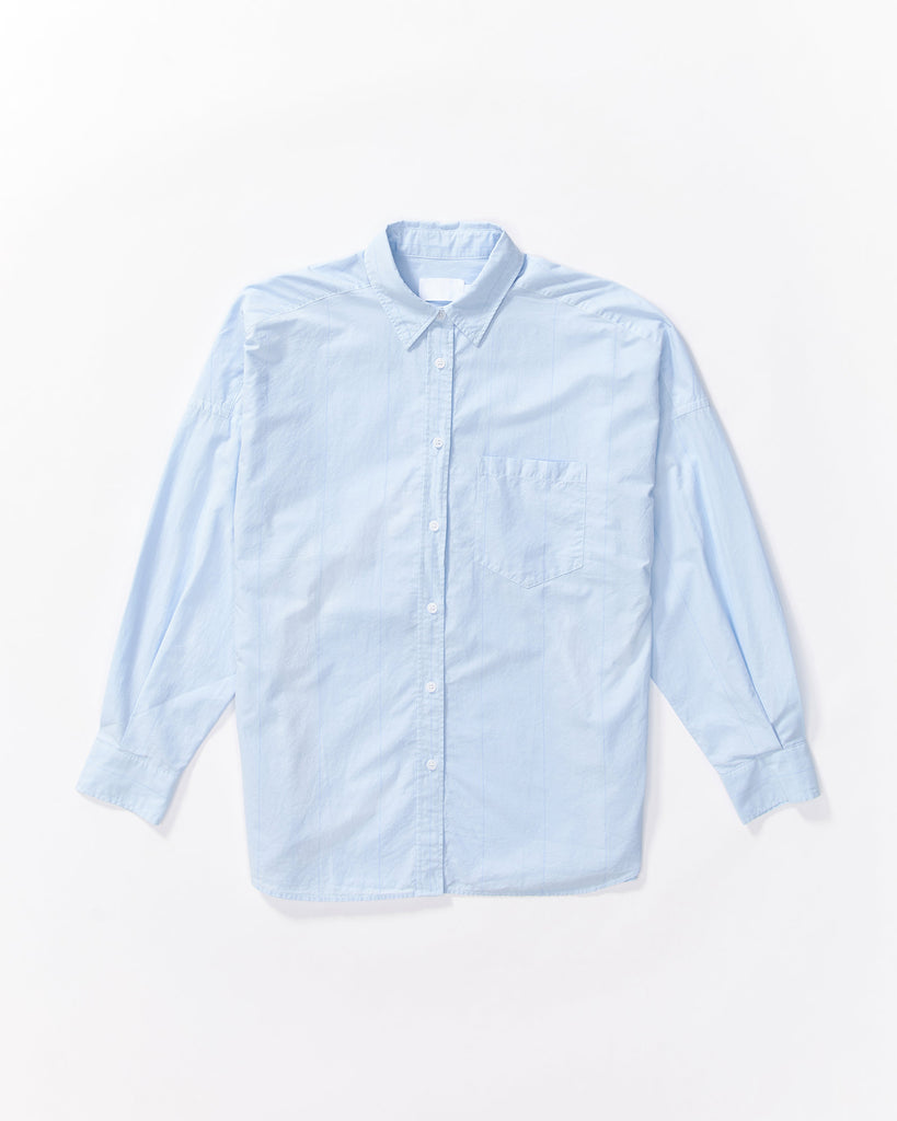 The Chiara Shirt - Sky Stripe