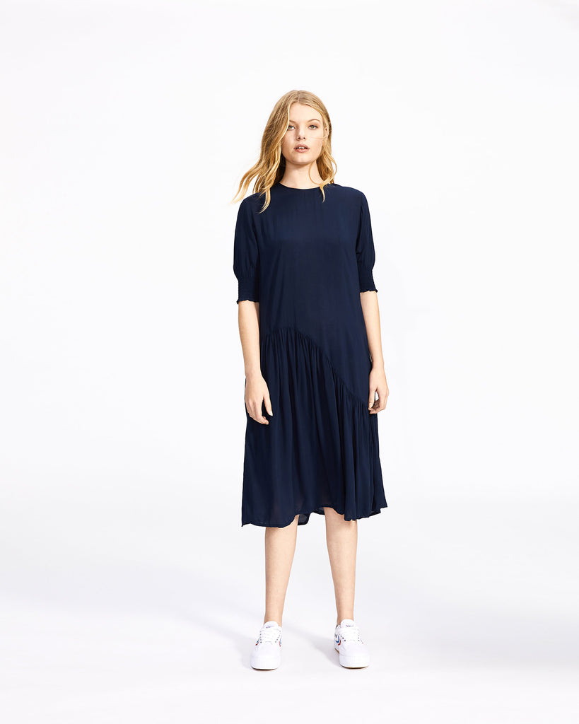 Arizona Dress - Navy