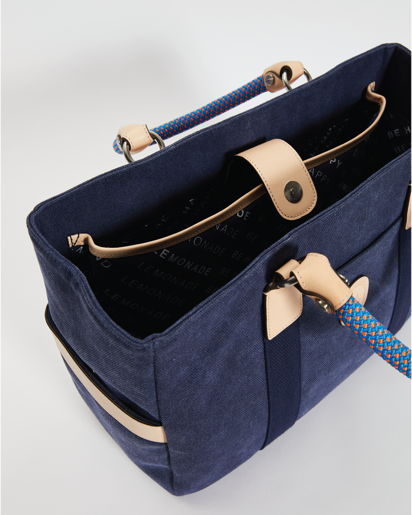 The LMND Tote - Large Navy