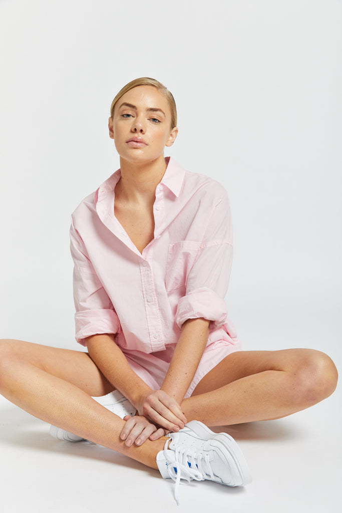 The Chiara Shirt - Pink Gelato