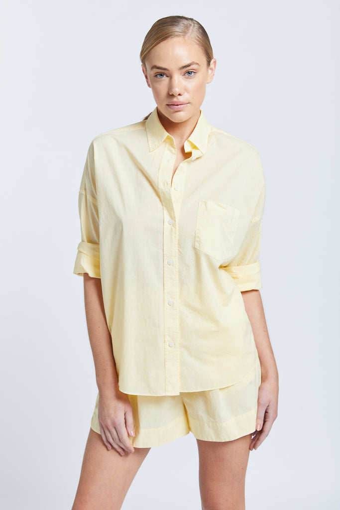 The Chiara Shirt - Limoncello