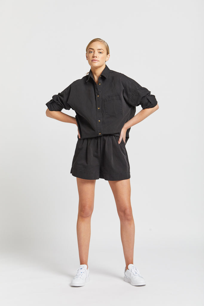 The Diaz short - Black