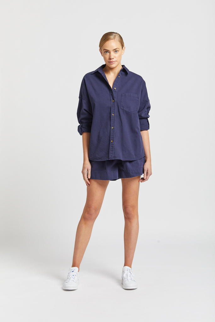 The Diaz short - Navy