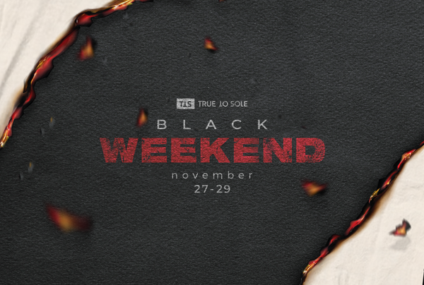 Black Weekend a True to Sole webshopban és üzletben!
