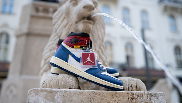 Union L.A. Jordan 1 'Blue Toe' a True to Sole grál vitrinjéből!