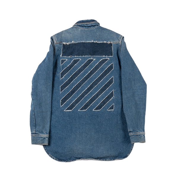 Off-White Washed Denim Jacket