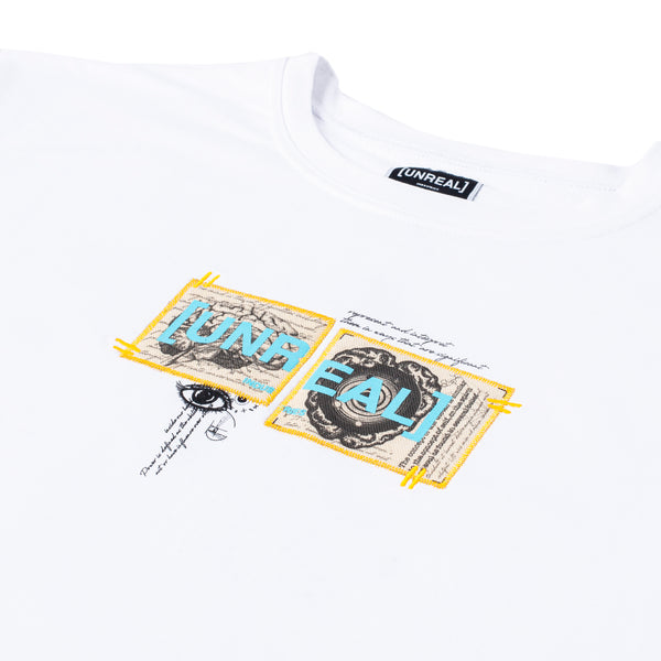 UNREAL - Brain tee White