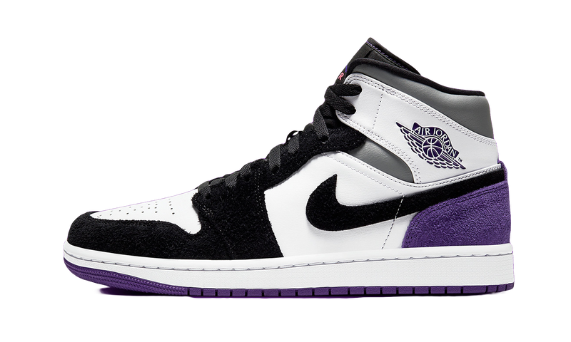 Air Jordan 1 Mid SE Varsity Purple