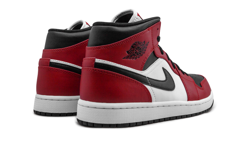 Air Jordan 1 Mid Chicago - Black Toe