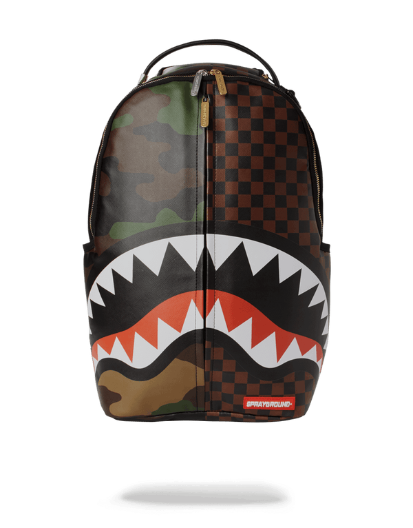 SPRAYGROUND® Checks and Camo Backpack