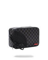SPRAYGROUND® Black Henny Square Toiletry Bag