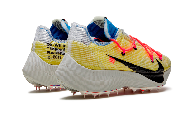 """Off-White"" x Nike Zoom Vapor Street Tour Yellow"