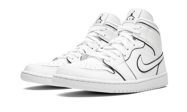 Air Jordan 1 Mid Iridescent Reflective White