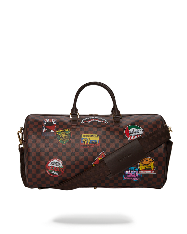 SPRAYGROUND® Travel Patches Duffle