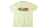 Supreme Paint Logo Tee Pale Mint