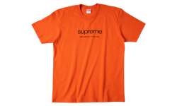 Supreme Shop Tee Orange