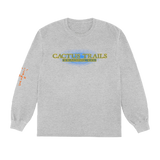 Travis Scott Trading Co. Long Sleeve T-Shirt Heather Grey