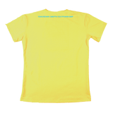 UNREAL Essential Classic Logo Tee Yellow Baby-blue