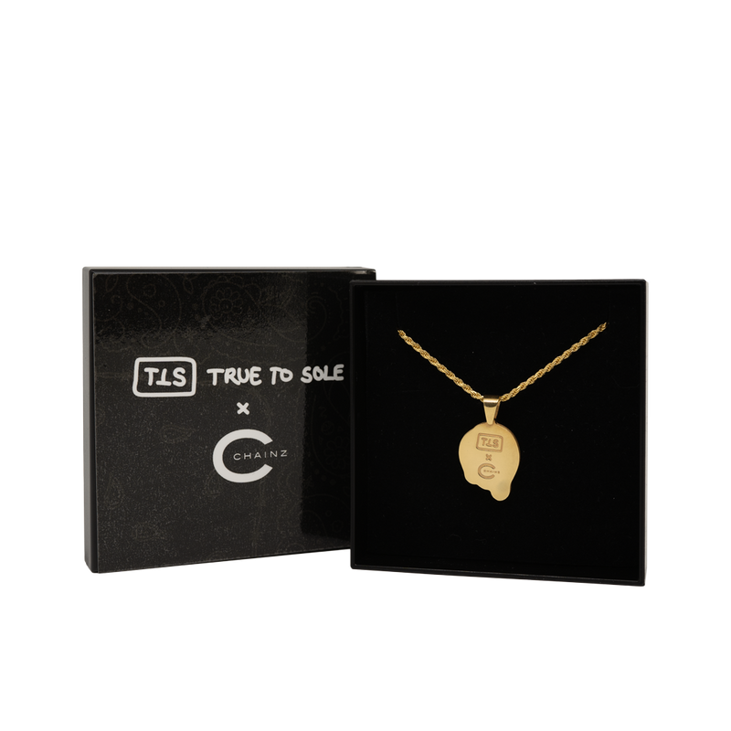 True to Sole x Chainz by Korvin SMILE necklace