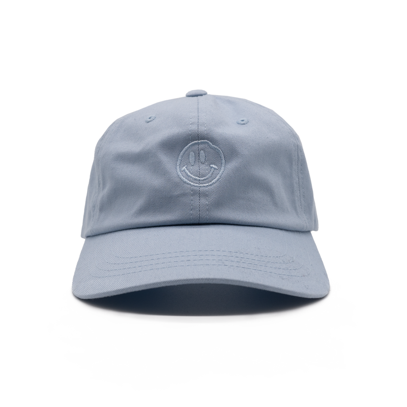 True to Sole - Smile Baseball Cap Blue