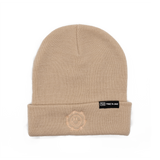 True to Sole - Guarded Smile Beanie Sand