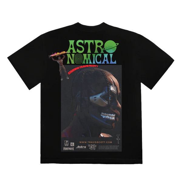 Travis Scott Sicko Event II T-Shirt Black