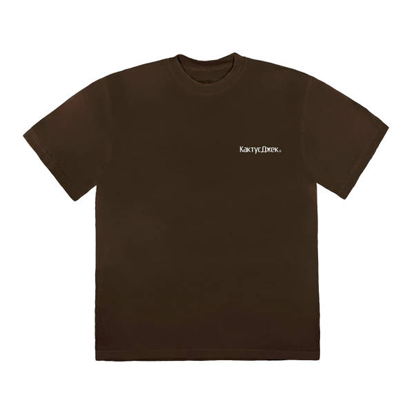 Travis Scott The Scotts Sicko Event T-Shirt Brown