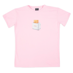 UNREAL - TOASTER TEE PINK