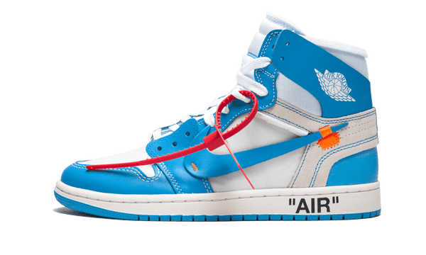 "Air Jordan 1 Retro High x ""Off-White"" UNC"